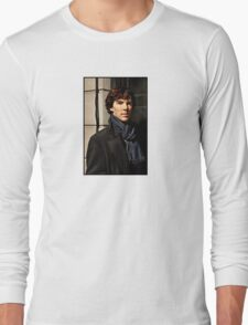 Sherlock at 221B Long Sleeve T-Shirt