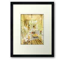 Memories from Lisbon Framed Print