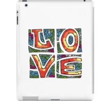 Love Alphabet iPad Case/Skin