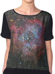 The Rosette Nebula Chiffon Top