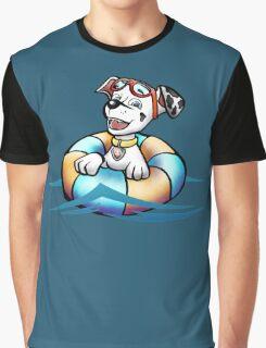 Swimming pup Graphic T-Shirt