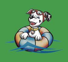 Swimming pup Kids Tee
