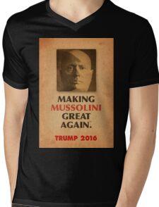 Trump Makings 2.  Mens V-Neck T-Shirt