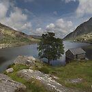 Llyn Ogwen Snowdonia Wales by eddiej