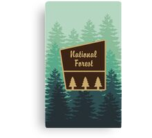 National Forest Canvas Print