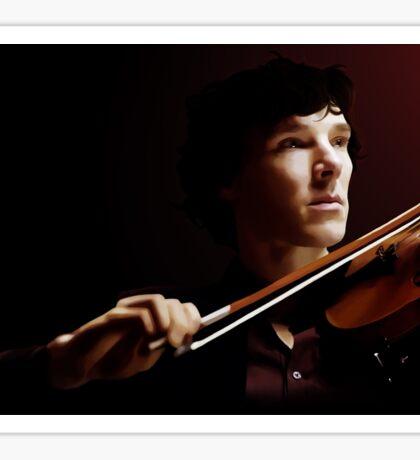 Violinist Sticker