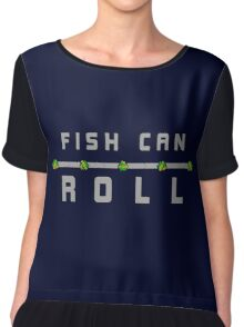 Fish Can Roll - Nuclear Throne Chiffon Top