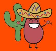 Little Mexican Jumping Bean - Cute Kids Cartoon Character T-Shirt