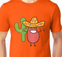Little Mexican Jumping Bean - Cute Kids Cartoon Character Unisex T-Shirt