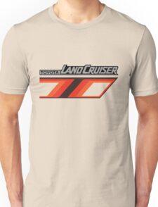 Land Cruiser body art series, orange T. Unisex T-Shirt