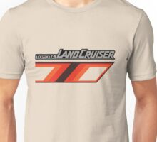 Land Cruiser body art series, orange T. Unisex T-Shirt