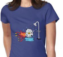 Meteor Shower - Cute Kids Cartoon Character Womens Fitted T-Shirt