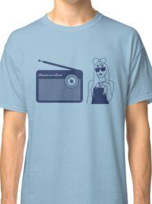 Radio Gaga - Lady Gaga & Queen Freddie Mercury Parody Classic T-Shirt