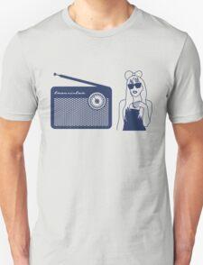 Radio Gaga - Lady Gaga & Queen Freddie Mercury Parody Unisex T-Shirt