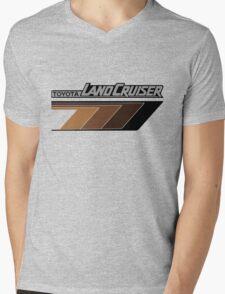 Land Cruiser body art series, brown arrows.  Mens V-Neck T-Shirt