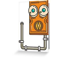 fuse box Greeting Card