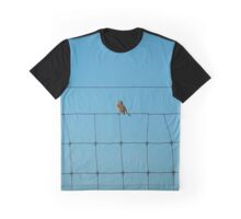 Passer Domesticus - Female House Sparrow | Northville, New York  Graphic T-Shirt