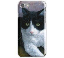 Cat 577 Tuxedo iPhone Case/Skin