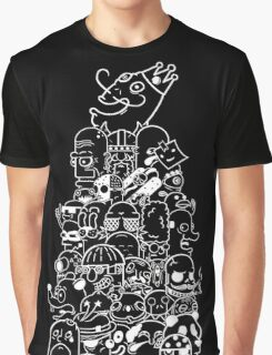 Face Tower Graphic T-Shirt