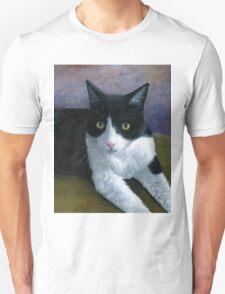 Cat 577 Tuxedo Unisex T-Shirt