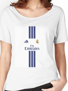 case real madrid home Women's Relaxed Fit T-Shirt