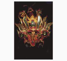 Emerald Eyed Dragon Head Mask T-Shirt