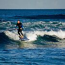 Paddle-Boarding Fun by reflector