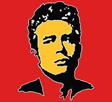 James Dean - Red & Orange Unisex T-Shirt