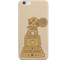 Cap Statue iPhone Case/Skin