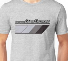 Land Cruiser body art series, grey tri-tone.  Unisex T-Shirt
