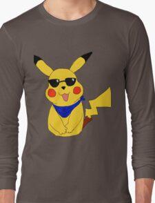 Team Mystic Pikachu Long Sleeve T-Shirt