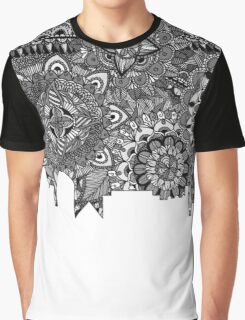 Zentangle City Las Vegas [Black and white] Graphic T-Shirt