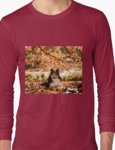 Sheltie Dog Long Sleeve T-Shirt
