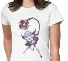 Feisty Rem Womens Fitted T-Shirt
