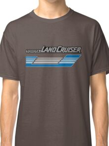 Land Cruiser body art series, blue grey stripes.  Classic T-Shirt
