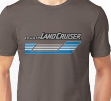 Land Cruiser body art series, blue grey stripes.  Unisex T-Shirt