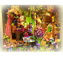 Chocolate Shop Photographic Print