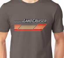 Land Cruiser body art series, red gold stripe.  Unisex T-Shirt