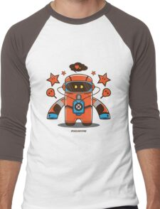 Spaceman  Men's Baseball ¾ T-Shirt