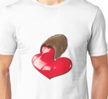 Chocolate - I Love You Unisex T-Shirt