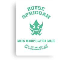 Mass Manipulation mage of the Spriggan 12 - normal Canvas Print