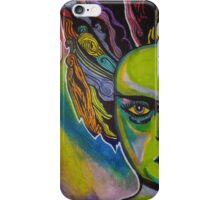 Pop Art Bride of Frankenstein iPhone Case/Skin