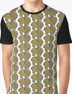 tea stain elephant  Graphic T-Shirt