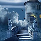 The mystical castle  by Monika Juengling