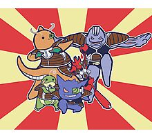 Pokemon Ginyu Force! Photographic Print