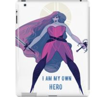 I Am My Own Hero iPad Case/Skin