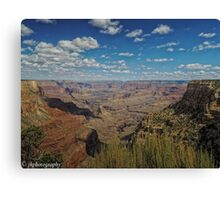 The View From Mather Point  Canvas Print