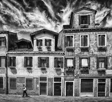Street in Venice by Dobromir Dobrinov