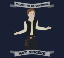 Han Solo: Raised to be Charming One Piece - Short Sleeve