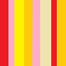 Bold Color in Red Yellow Pink by EloiseArt